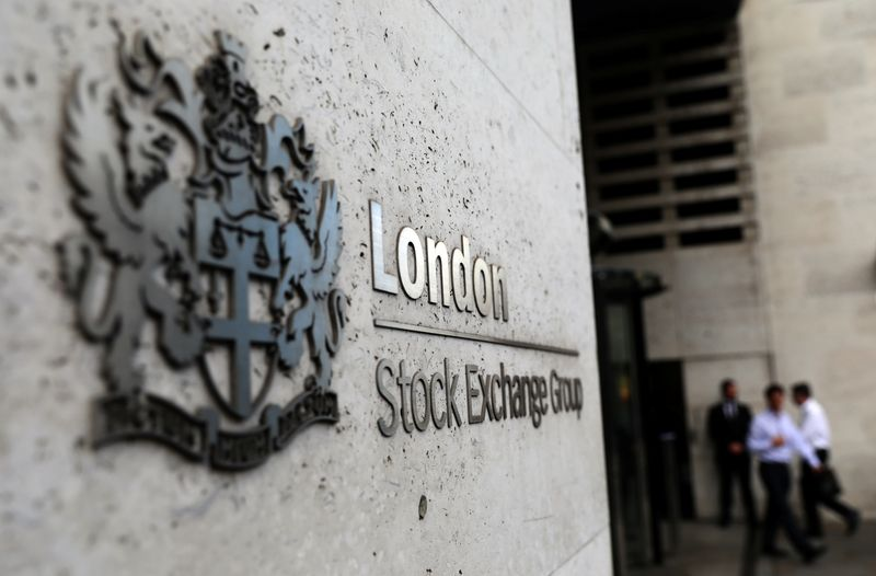 London stocks gain on faster recovery hopes; Vodafone jumps