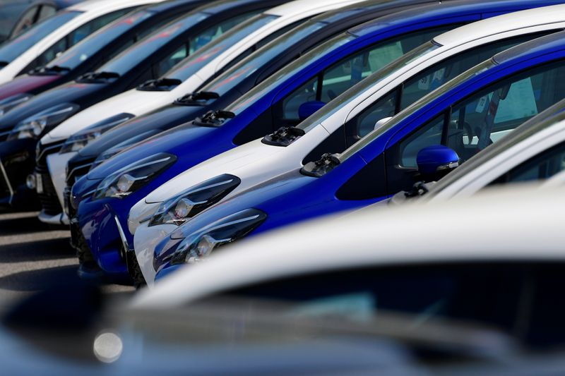 UK new car sales rise over 3,000% from last year's lockdown low