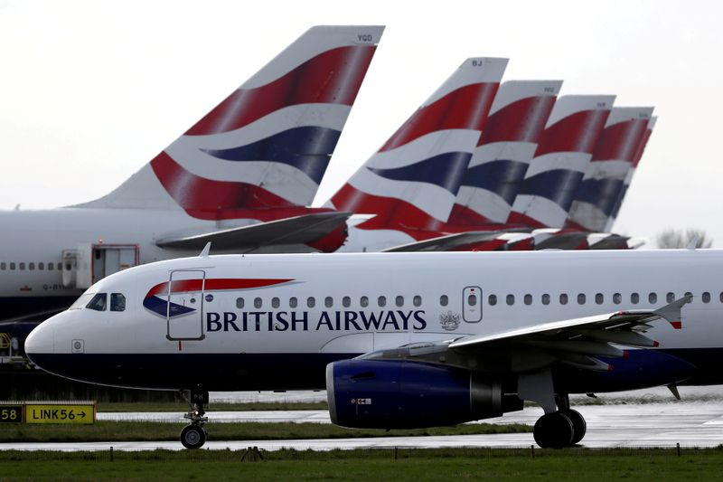 British Airways owner IAG expects travel recovery from July
