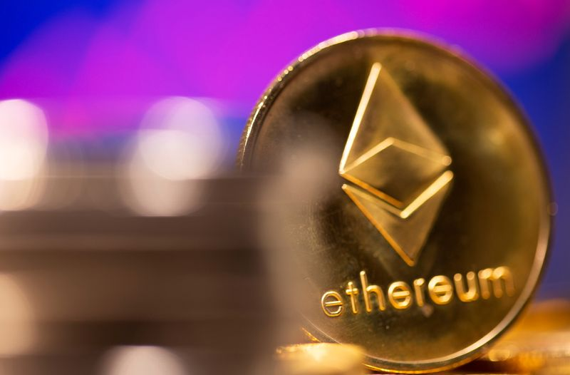 Ether bursts past $4,000, other cryptos firm