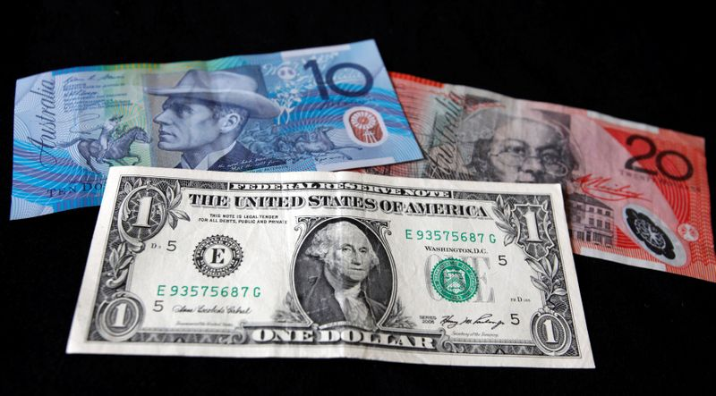 Delta virus fears support safe-haven currencies, A$ up after RBA