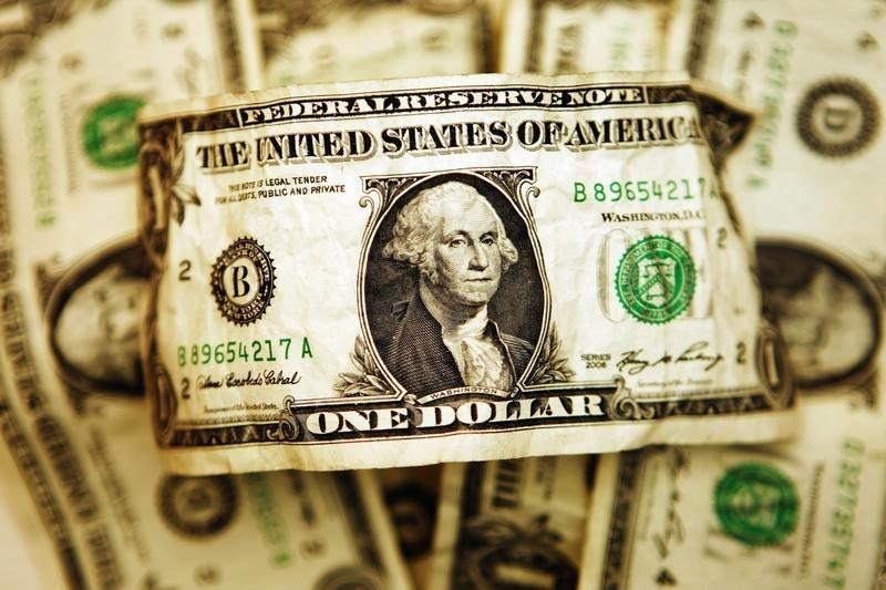 """Dollar Down, But Near Three Week High After """"Surprisingly Stong"""" U.S. Retail Data"""