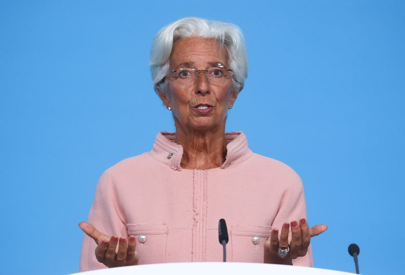 Euro zone recovering faster than anticipated: Lagarde